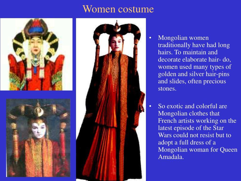 Women costume