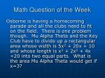 math question of the week8