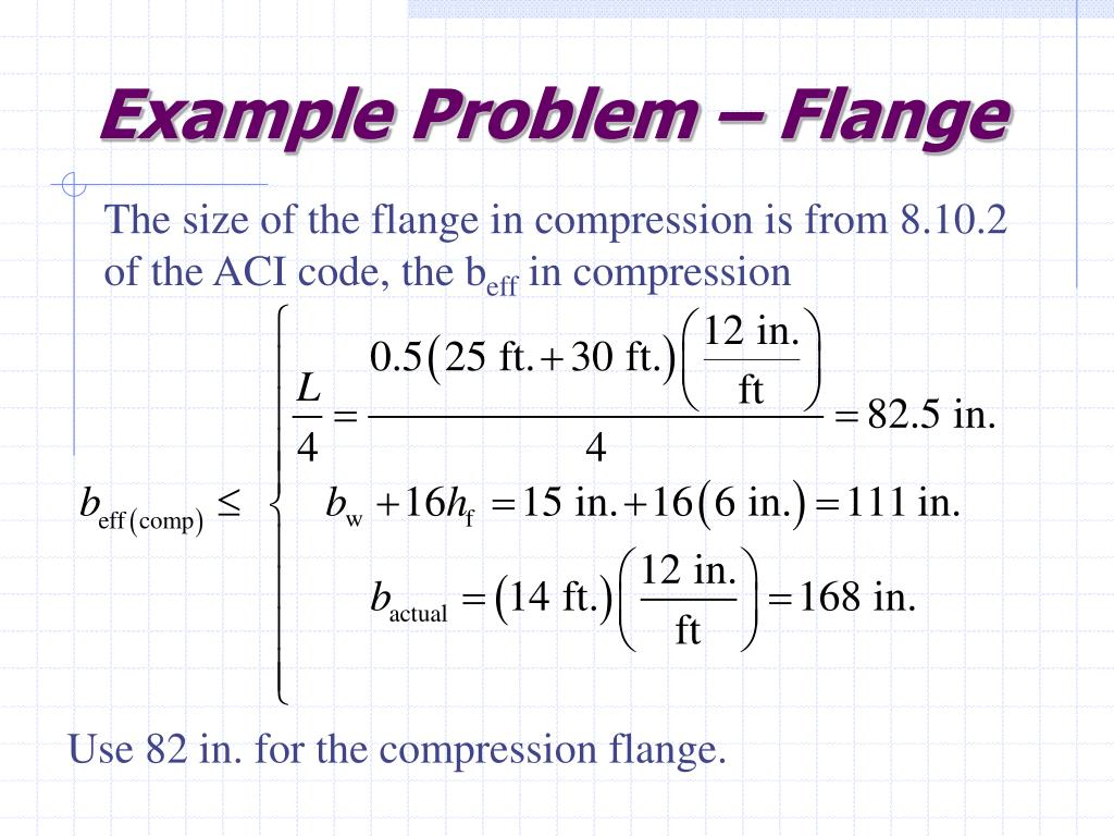 Example Problem – Flange