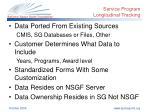 service program longitudinal tracking1