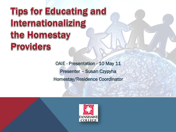 tips for educating and internationalizing the homestay providers n.