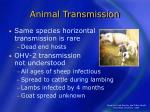animal transmission14