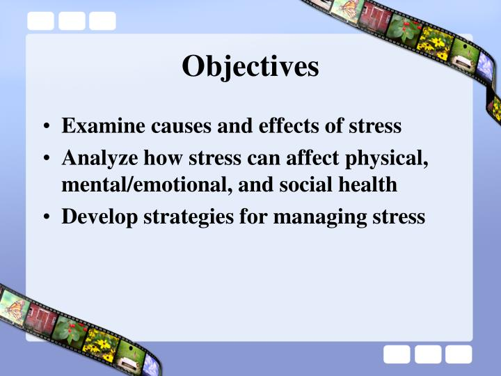 causes and effect of stress To understand stress clearly, we will learn about the causes, effects and some way to reduce stress as you know, everyone has different stress triggers, so there are many causes of stress firstly, pressure of work tops the list, according to surveys.