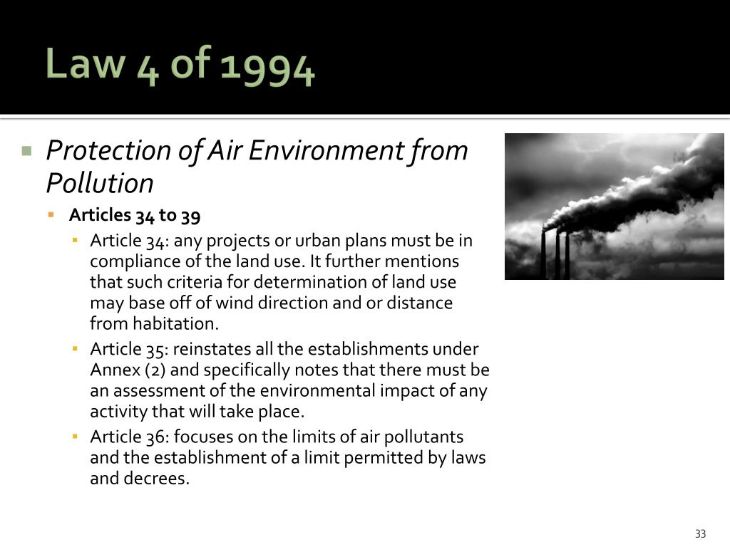 Law 4 of 1994