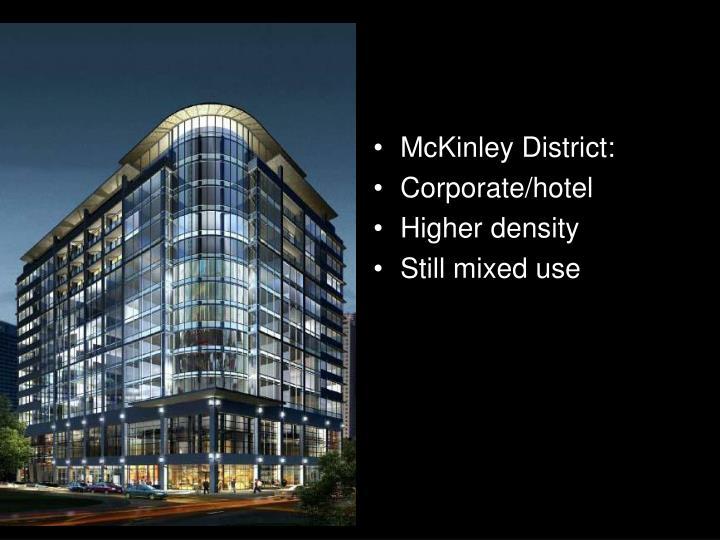 McKinley District: