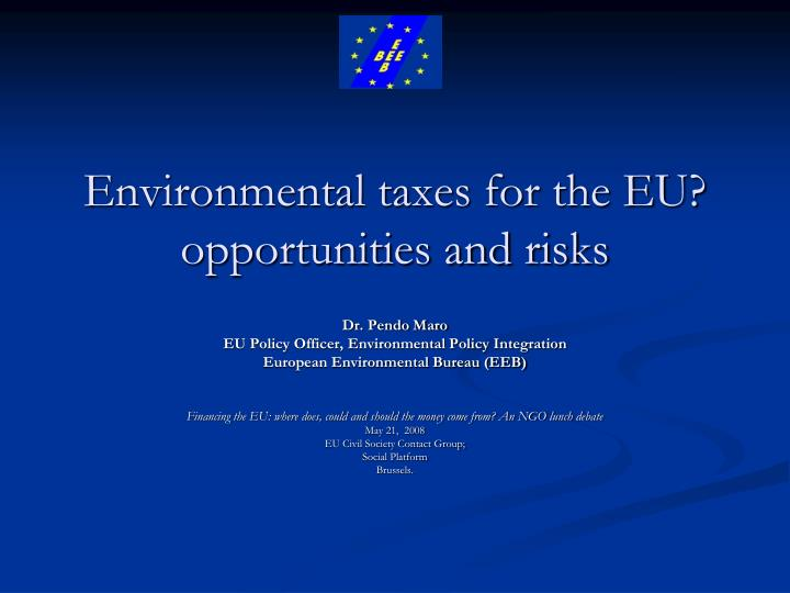 essay environmental policy eu Corporate environmental responsibility:1 is a common csr framework possible piotr mazurkiewicz devcomm-sdo world bank 1 this paper is not intended to serve as an exhaustive, comprehensive treatment of crs.