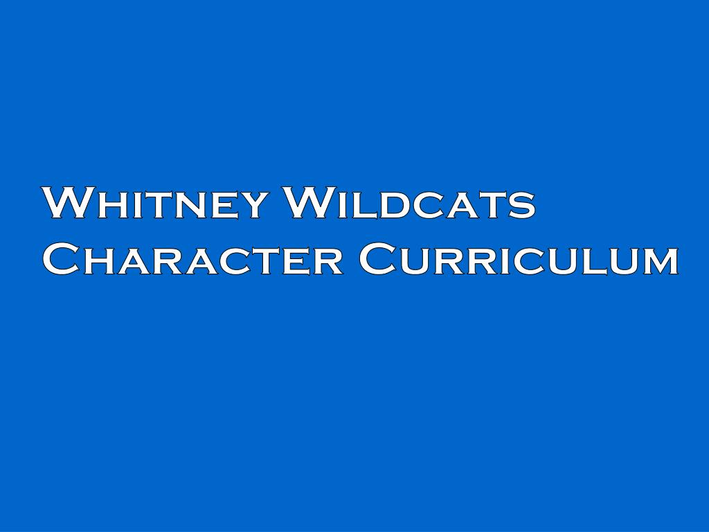 Whitney Wildcats