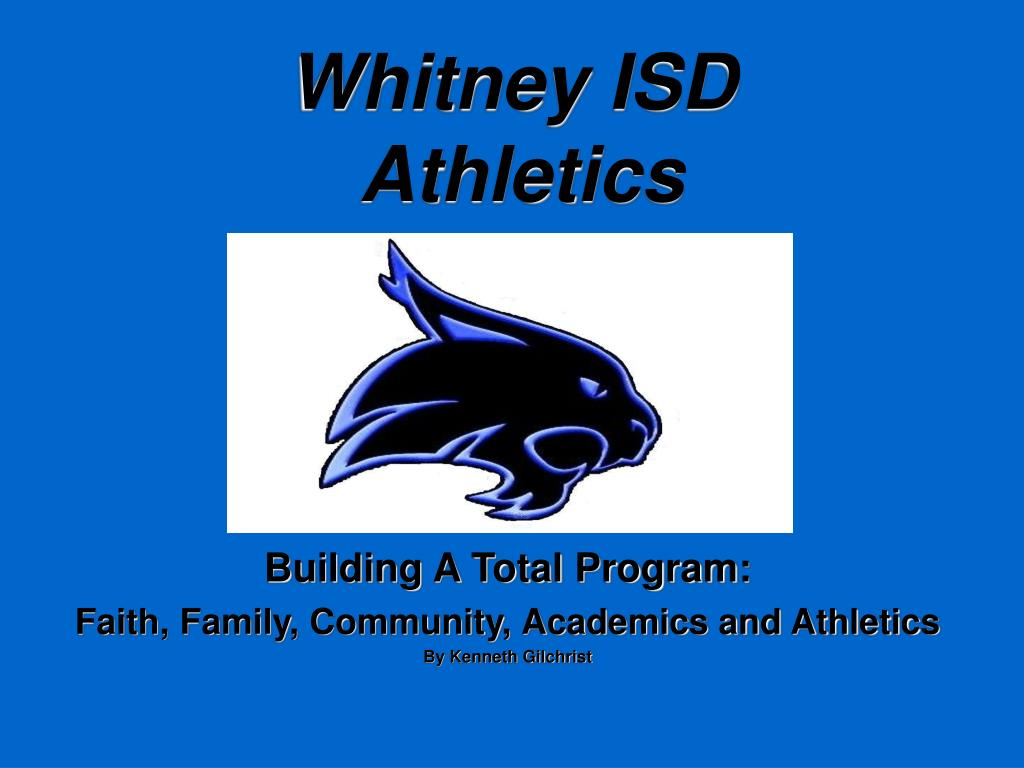 whitney isd athletics l.