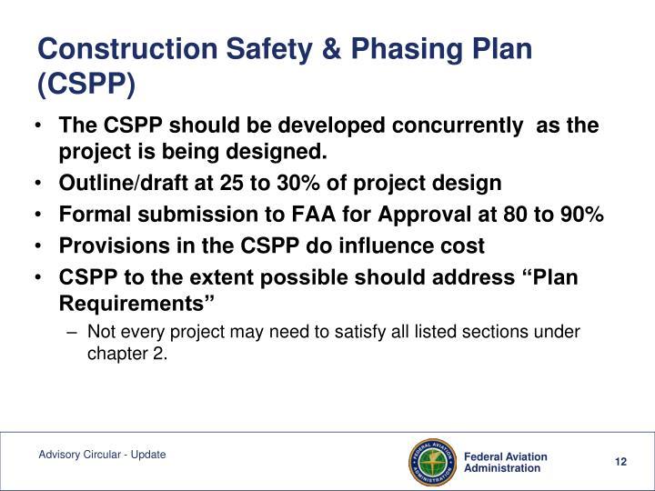 Construction Safety & Phasing Plan (CSPP)
