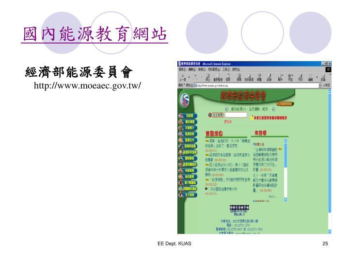 國內能源教育網站