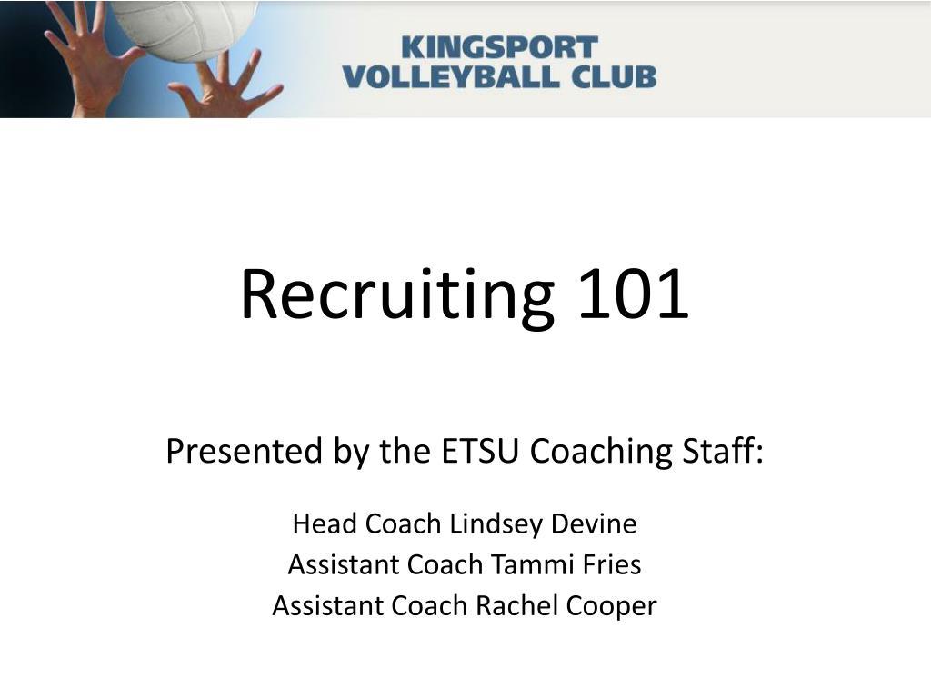 recruiting 101 l.