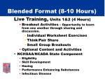 blended format 8 10 hours6