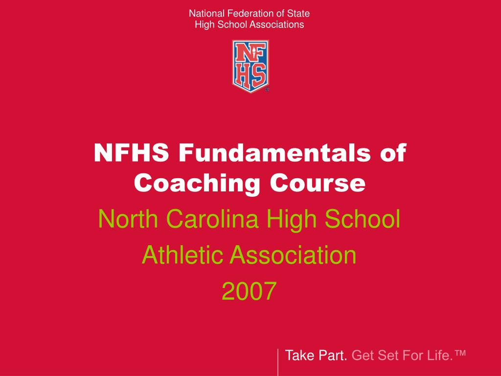 nfhs fundamentals of coaching course