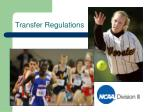 transfer regulations