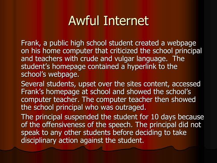 Awful Internet