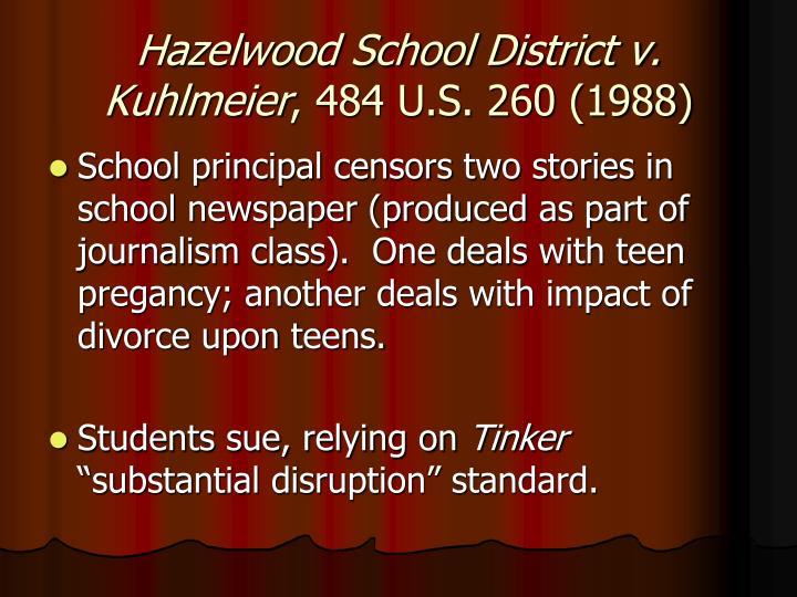 Hazelwood School District v. Kuhlmeier