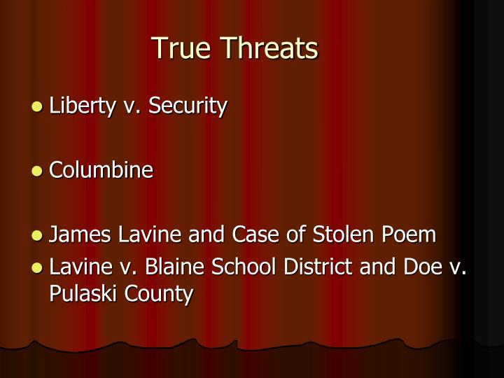 True Threats