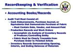 recordkeeping verification31