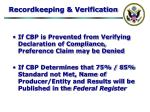 recordkeeping verification32