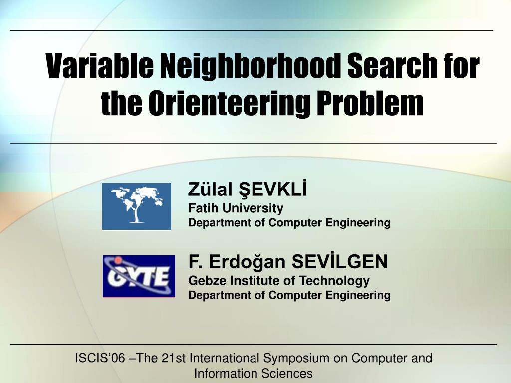 variable neighborhood search for the orienteering problem l.