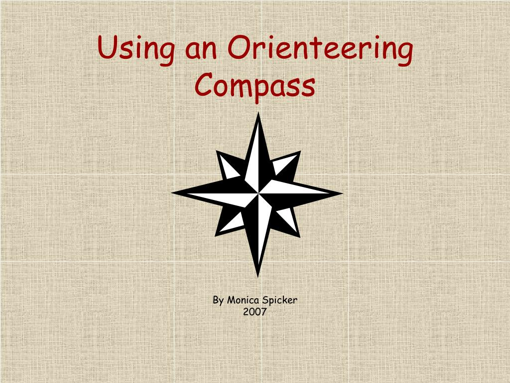 Using an Orienteering Compass