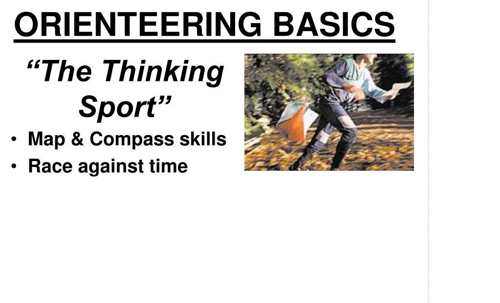 ORIENTEERING BASICS