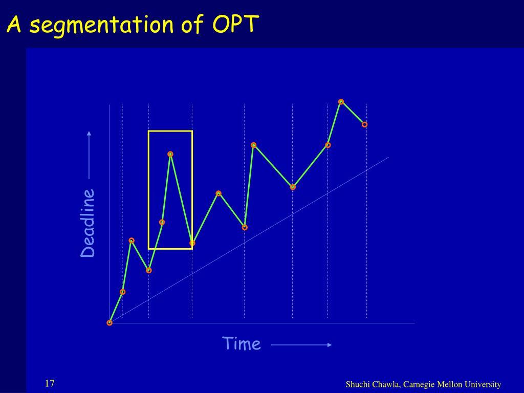 A segmentation of OPT