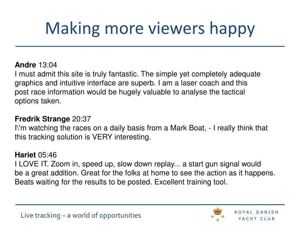 Making more viewers happy