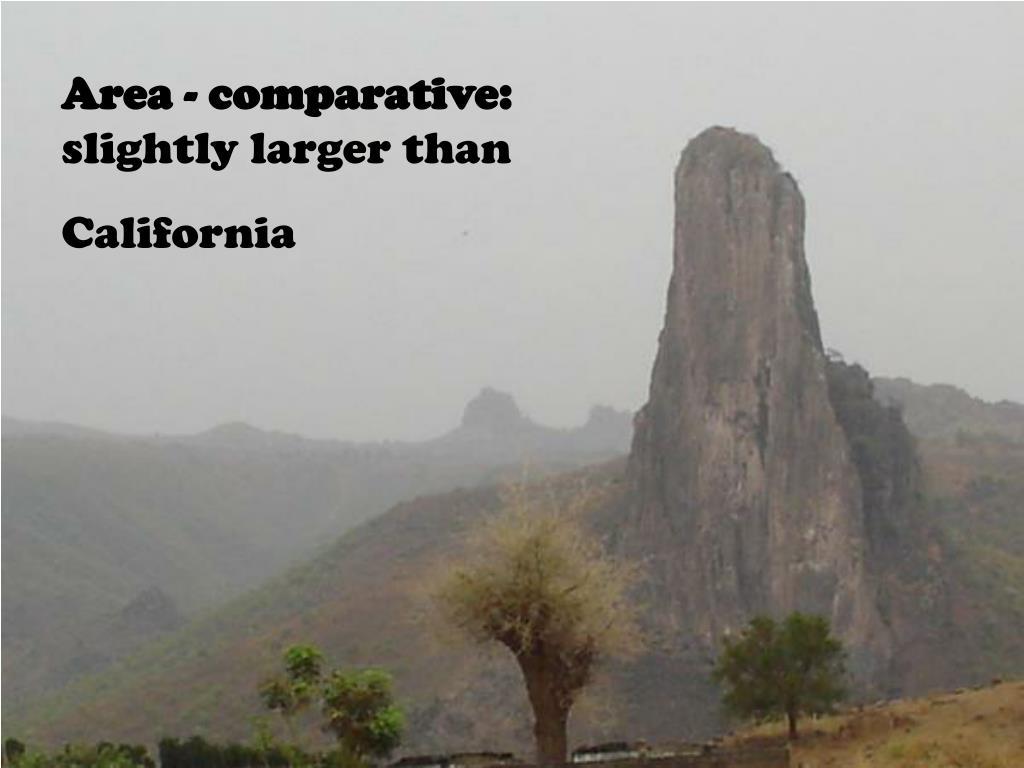 Area - comparative: