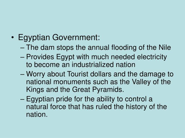 Egyptian Government: