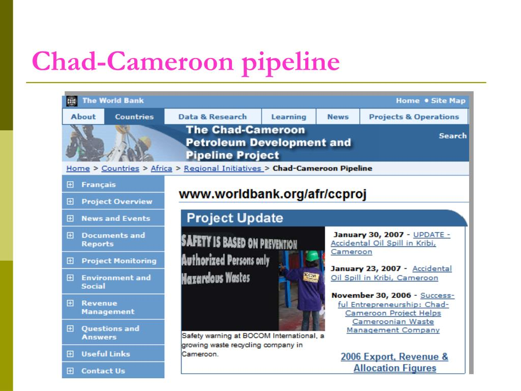 Chad-Cameroon pipeline