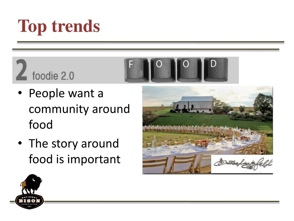 Top trends