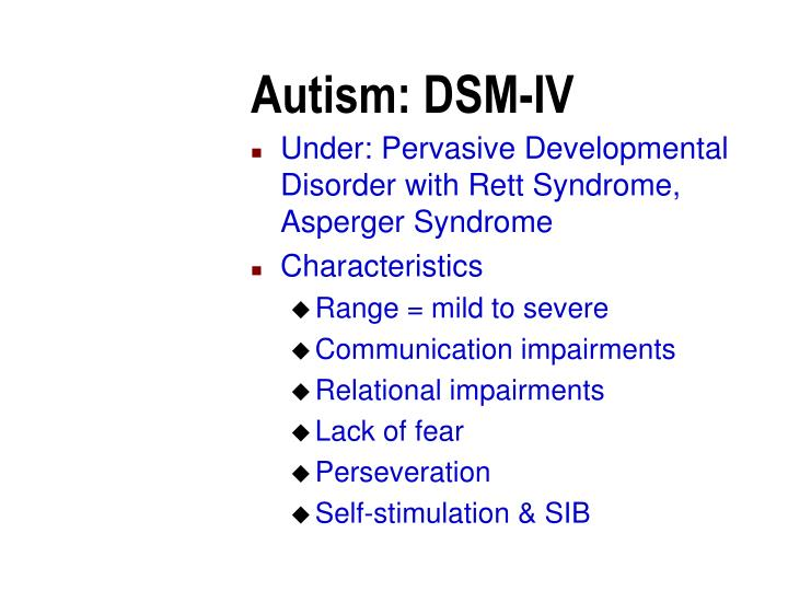 """the characteristics of the syndrome of autism a developmental disability Fxs, are diagnosed with asd by a provider at their fxcrc clinic why are autistic features common in fxs our current knowledge about asd indicates that it is a developmental brain disorder, beginning shortly after birth or even earlier it's most characteristic feature is the presence of abnormal patterns of neural """"wiring."""