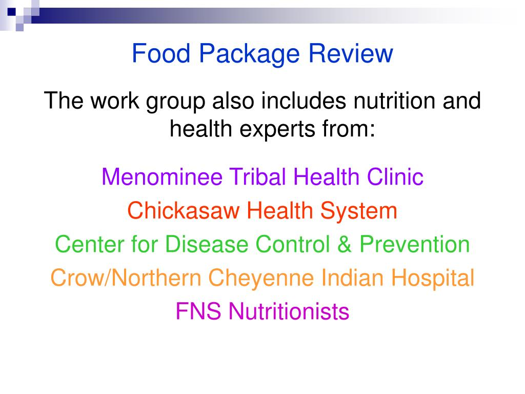 Food Package Review