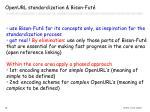openurl standardization bison fut