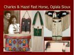 charles hazel fast horse oglala sioux