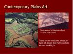contemporary plains art