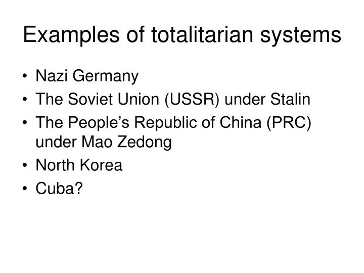 Totalitarian Examples Images Example Cover Letter For Resume