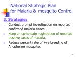 national strategic plan for malaria mosquito control14