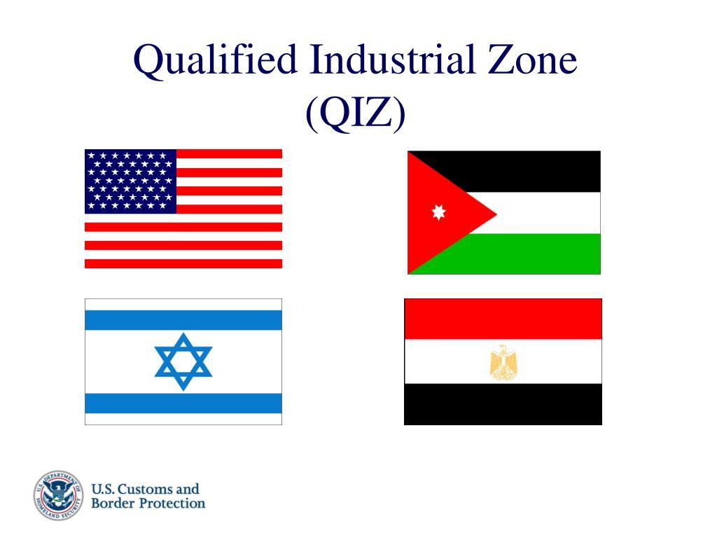 Qualified Industrial Zone (QIZ)