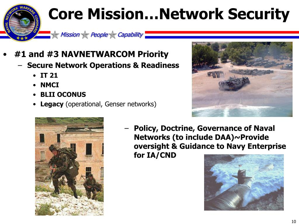 Core Mission…Network Security