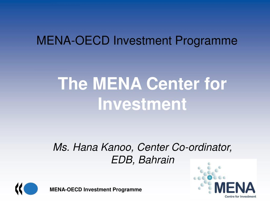 mena oecd investment programme l.