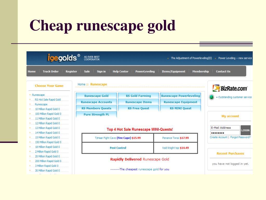 cheap runescape gold l.