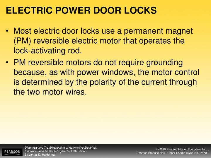 ELECTRIC POWER DOOR LOCKS
