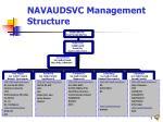 navaudsvc management structure