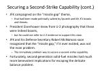 securing a second strike capability cont1