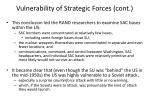 vulnerability of strategic forces cont1
