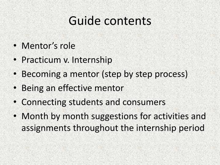 mentorship and the role of a mentor 23062016  these 8 mentorship tips will help you be the best mentor and mentee you can be like all good relationships, mentorship is a two-way street.
