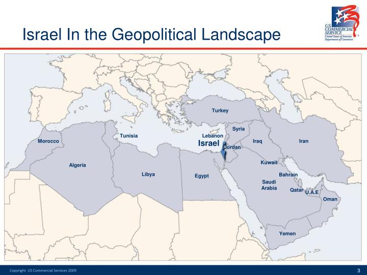 Israel in the geopolitical landscape3