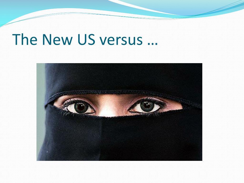 The New US versus …